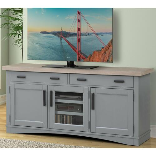 See Details - AMERICANA MODERN - DOVE 63 in. TV Console
