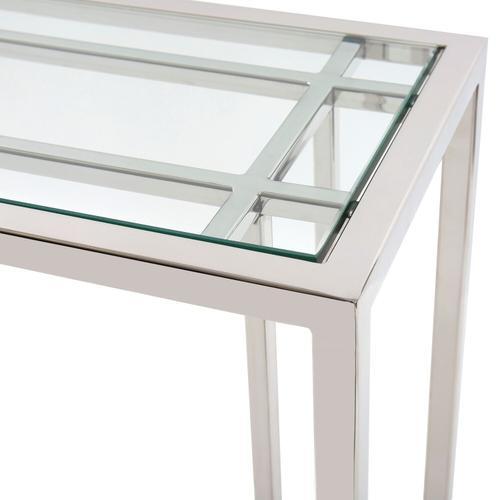 Howard Elliott - Echo Stainless Steel Console Table