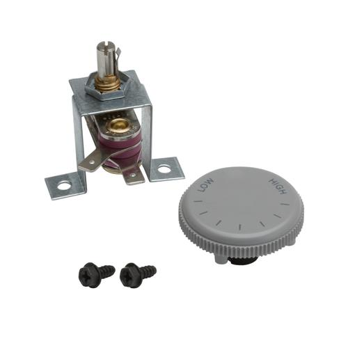 Broan® Thermostat Kit. Rated 120/240VAC, 12.5 amps. Temperature range 40° - 125° F