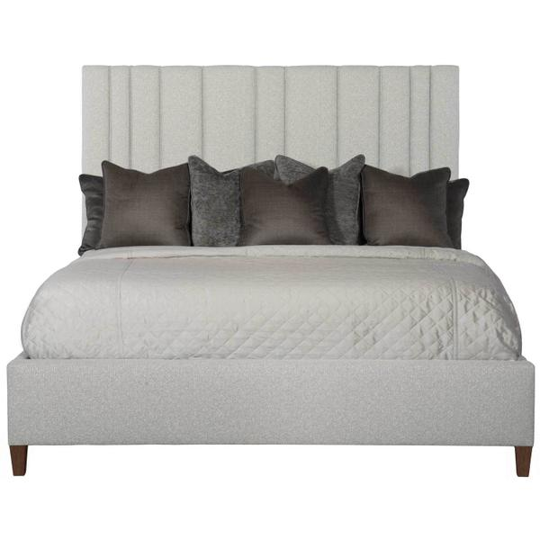 See Details - Queen-Sized Modena Upholstered Bed in Espresso