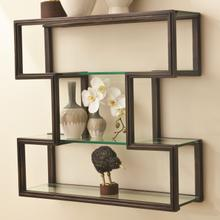 See Details - One Up Wall Shelf-Bronze