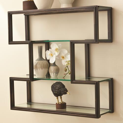 One Up Wall Shelf-Bronze