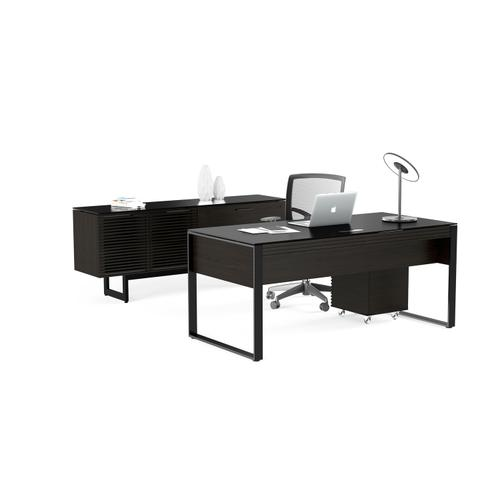BDI Furniture - Corridor 6521 Desk in Charcoal Stained Ash