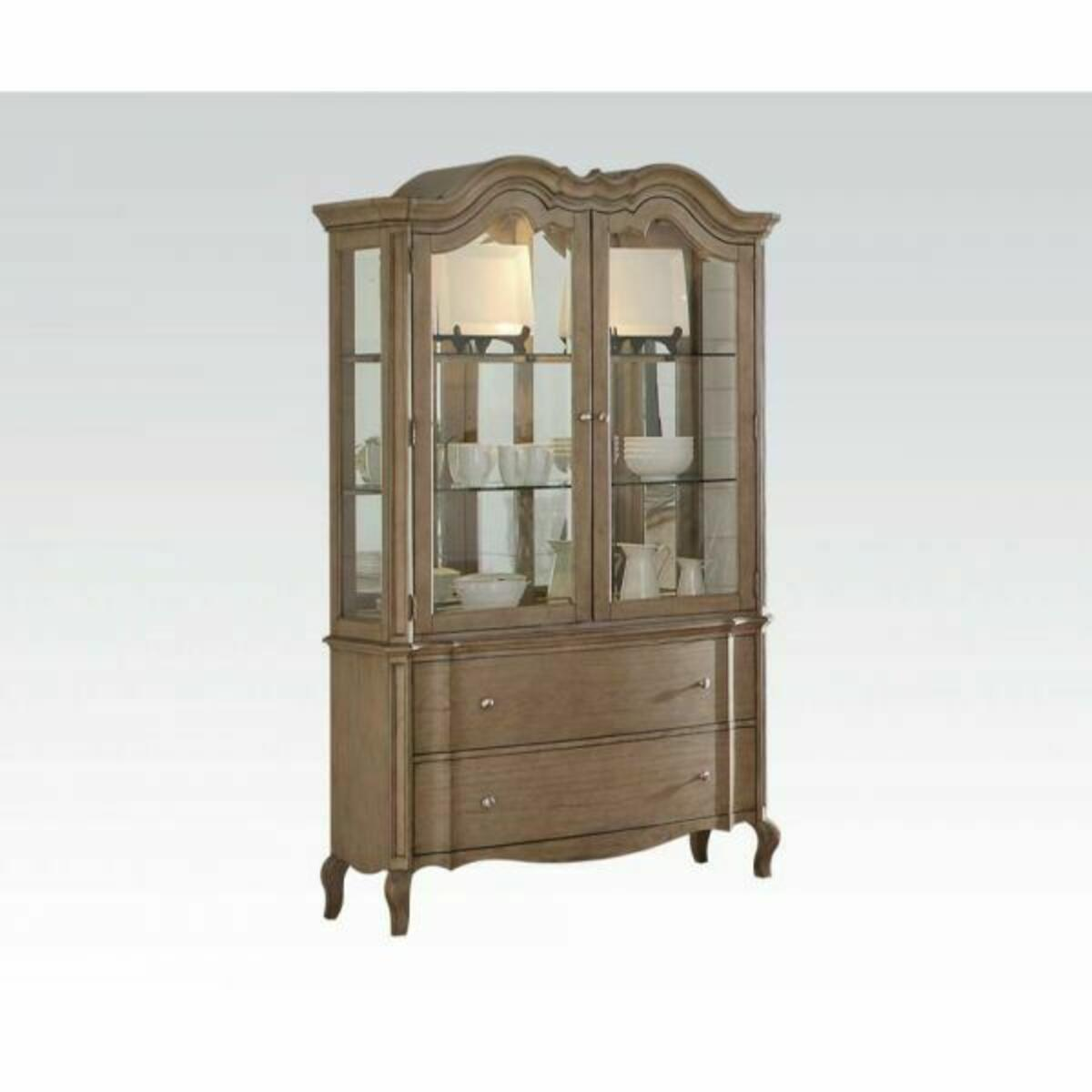 ACME Chelmsford Hutch & Buffet - 66054 - Antique Taupe