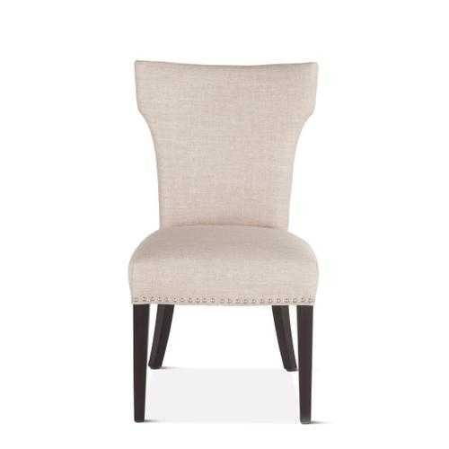 Rebecca Beige Dining Chair with Java Leg