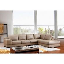 Divani Casa 260 Italian Leather Sectional Sofa