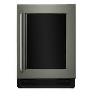 """KitchenAid24"""" Panel Ready Beverage Center with Glass Door - Panel Ready PA"""