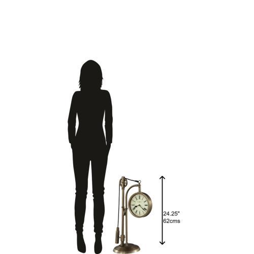 Howard Miller - Howard Miller Pulley Time Mantel Clock 635210