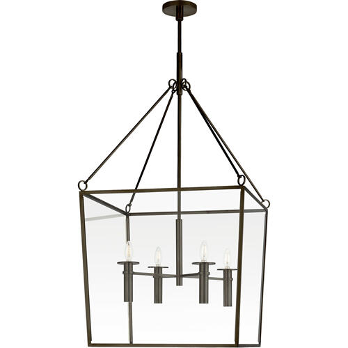 Barbara Barry Cochere 4 Light 24 inch Bronze Lantern Pendant Ceiling Light, Large