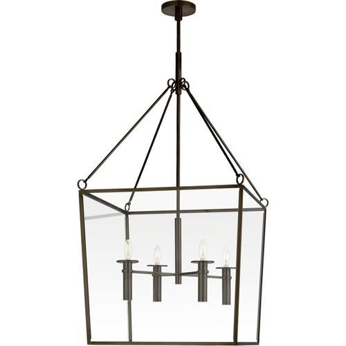 Visual Comfort - Barbara Barry Cochere 4 Light 24 inch Bronze Lantern Pendant Ceiling Light, Large