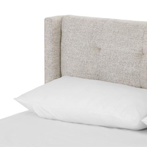 Four Hands - Queen Size Plushtone Linen Cover Newhall Bed