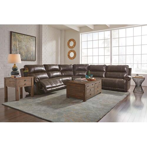 Dak 4-piece Reclining Sectional Non-power