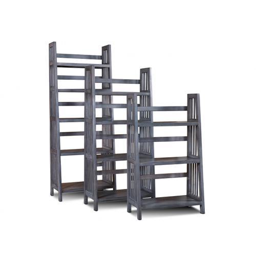 Horizon Home Furniture - Varsity 60'' Gray Bookcase