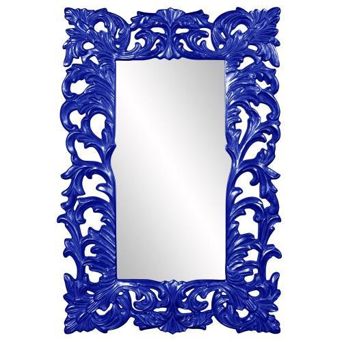 Howard Elliott - Augustus Mirror - Glossy Royal Blue