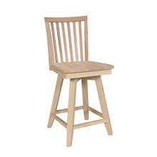 S-262SWB 24'' Mission Swivel stool