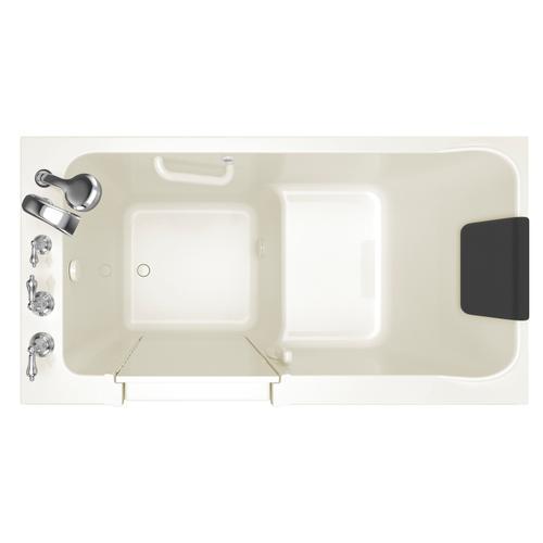 American Standard - Acrylic Luxury Series 32x60 Walk-in Tub, Left Drain  American Standard - Linen