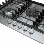 "Bosch 800 Series, 30"" Gas Cooktop, 5 Burners, Stainless Steel"