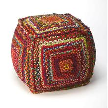This Pouf is a wonderful way to add a little bit of extra seating without limiting your walking space and openness of your living room. Place this Pouf next to your sofa or near the family club chair and always have a stylish place to put your feet. Place two or three with your sofa table for extra eating space for the little ones in your family room.