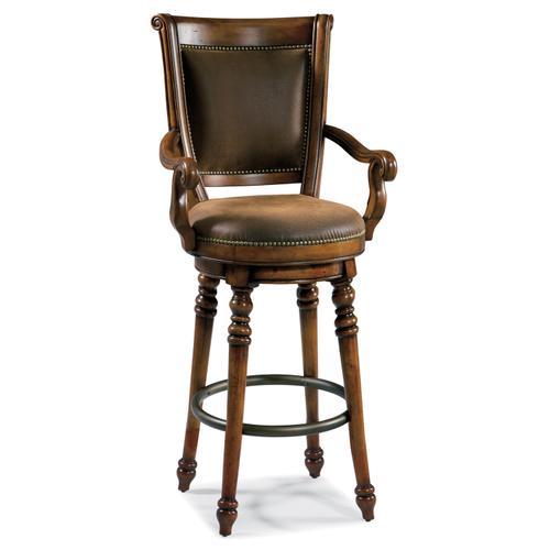 Hooker Furniture - Waverly Place Memory Swivel Bar Stool