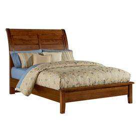 Sleigh Bed with Low Profile Footboard