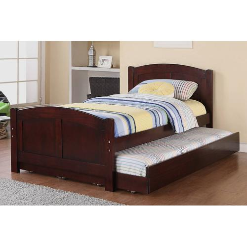 Poundex - Twin Size Bed W/ Trundle