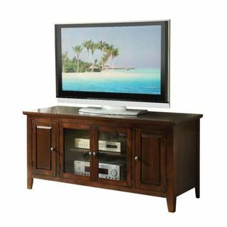 """ACME Christella TV Stand - 10346 - Chocolate for Flat Screens TVs up to 60"""""""