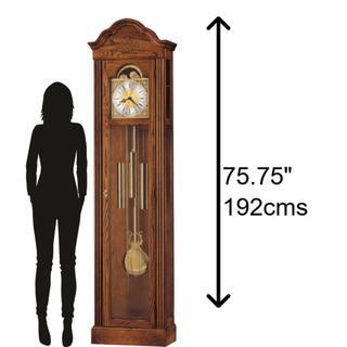 See Details - Howard Miller Ashley Grandfather Clock 610519