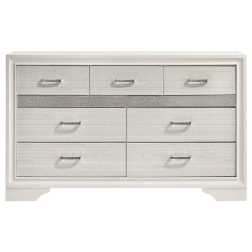 - Miranda Modern Seven-drawer Dresser With Hidden Jewelry Tray