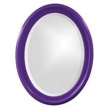 View Product - George Mirror - Glossy Royal Purple