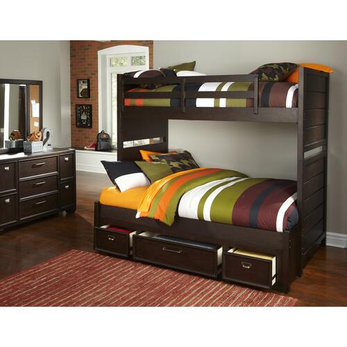 Clubhouse Underbed Storage Unit Twin