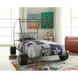 ACME Xander Twin Bed - 37640T - Gunmetal Go Kart