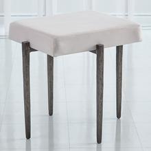 See Details - Laforge Bench-Natural Iron w/Muslin Cushion-Sm