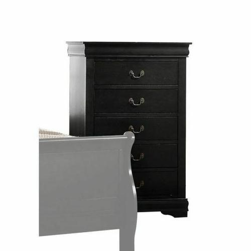 ACME Louis Philippe Chest - 23736 - Black