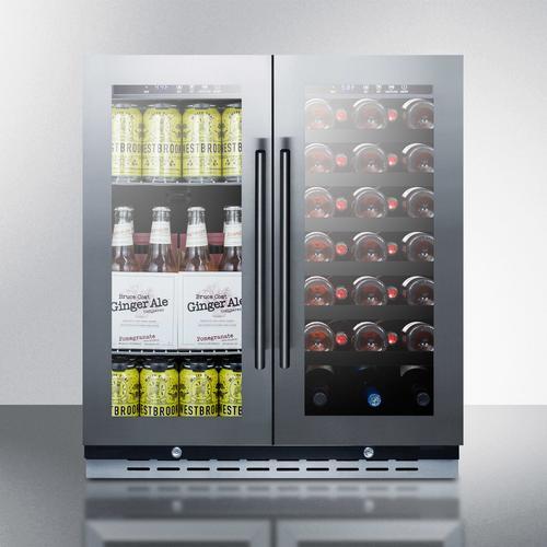 "30"" Wide Built-in Wine/beverage Center"