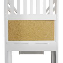 See Details - Cork board - White