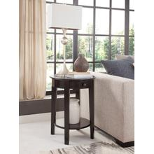 Phillips Table in Solid Black