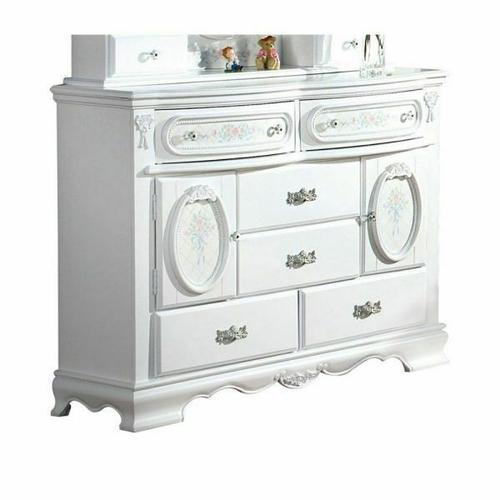 ACME Flora Dresser - 01665 - White