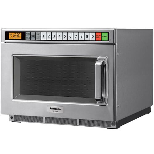 Panasonic - 1700 Watt Compact Commercial Microwave Oven with 60 Programmable Memory Pads