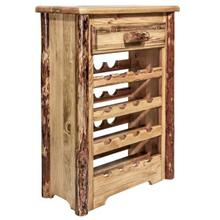 Glacier Country Collection Wine Cabinet