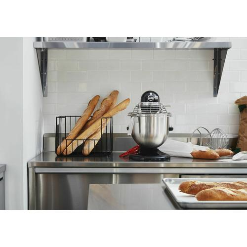 KitchenAid Canada - NSF Certified® Commercial Series 8-Qt Bowl Lift Stand Mixer with Stainless Steel Bowl Guard - Onyx Black