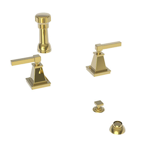 Newport Brass - Polished Gold - PVD Bidet Set