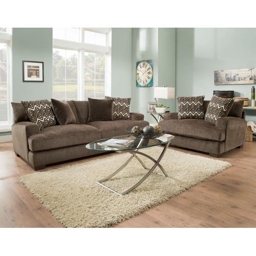 American Furniture Manufacturing - 1600 Ultimate Smoke Sofa