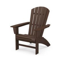 View Product - Nautical Curveback Adirondack Chair in Mahogany