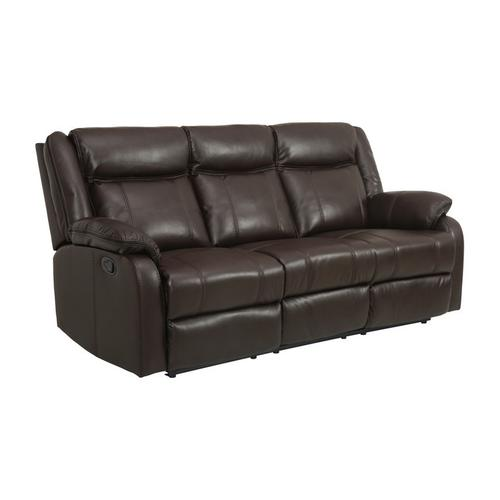 Gallery - Double Reclining Sofa with Center Drop-Down Cup Holders