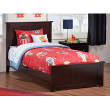 View Product - Nantucket Twin Bed with Matching Foot Board in Espresso
