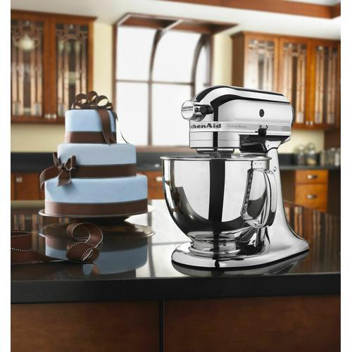 Gallery - Custom Metallic® Series 5 Quart Tilt-Head Stand Mixer - Chrome