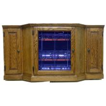 See Details - Forest Designs Traditional TV Stand: 56W x 30H x 18D