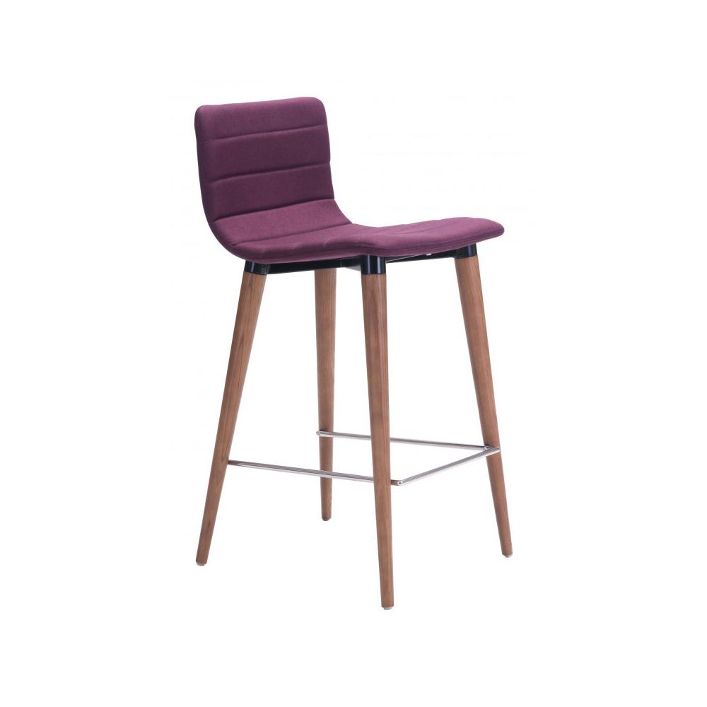 Jericho Counter Chair Purple