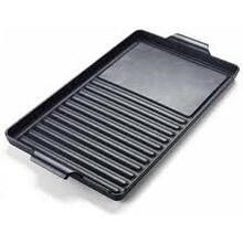 "Cast Iron Grill / Griddle Combination - W 9"" D 15"" - 7 1/2"" lbs."
