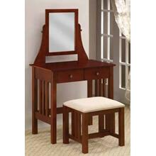 2PC Set, Vanity, Stool